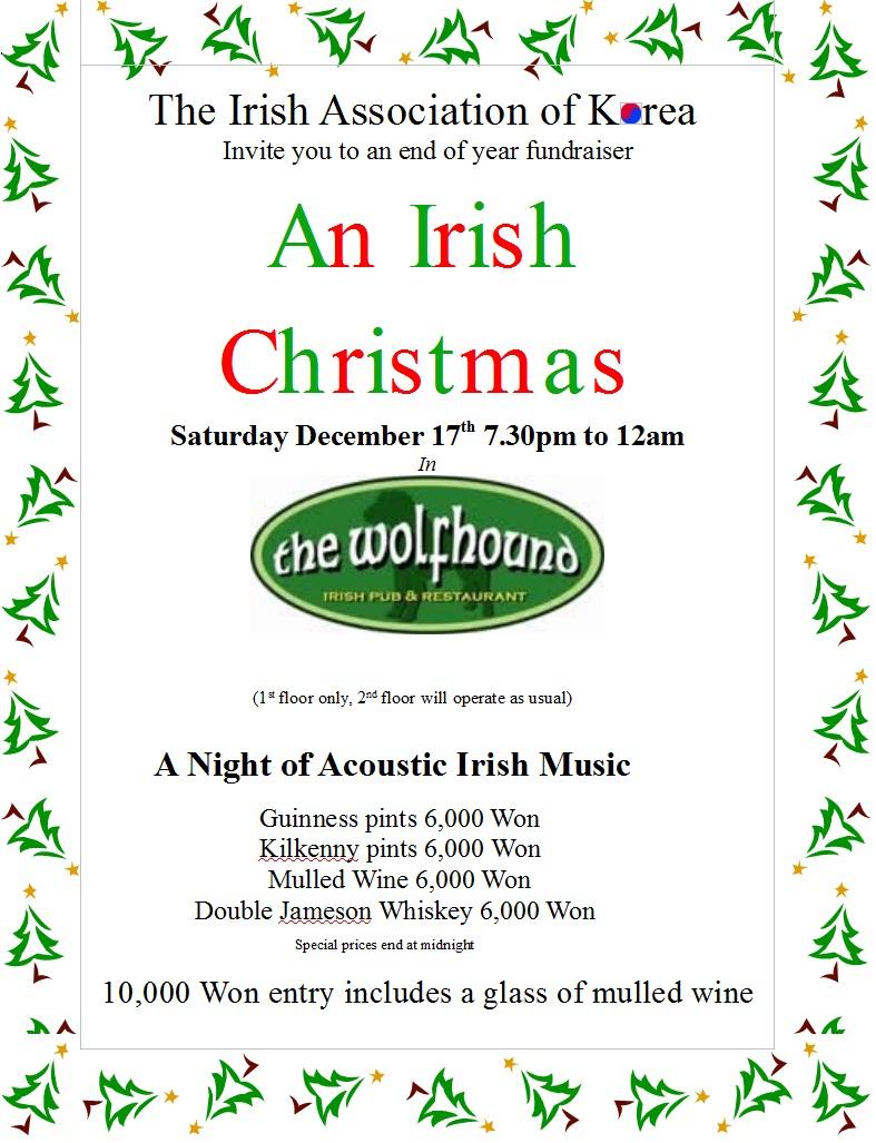 An Irish Christmas | Irish Association of Korea 한국아일랜드협회