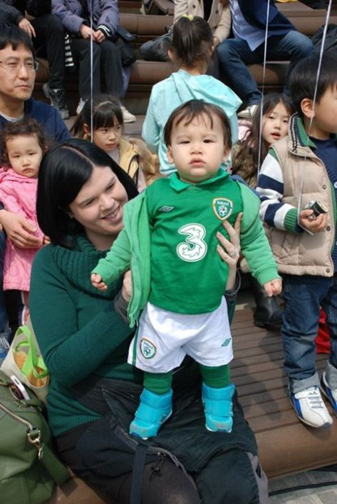 korean baby st patricks day