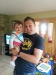 With my new niece Brenna